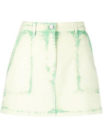 Alberta Ferretti denim mini skirt