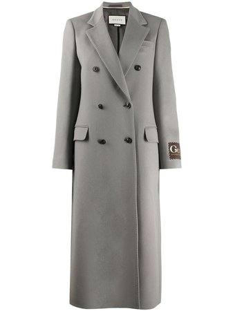Gucci, double-breasted wool coat