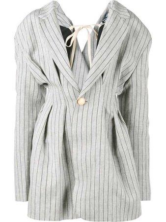 Jacquemus oversized stripe jacket