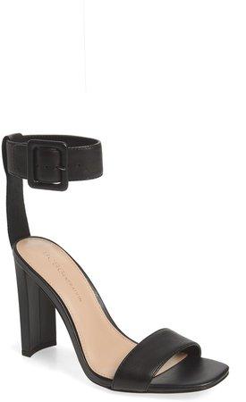 Winoni Buckle Ankle Strap Sandal