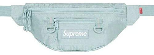 Amazon.com | Supreme Waist Bag Fanny Pack Light Blue SS19 Brand New 100% Authentic Real Designer Rare | Waist Packs