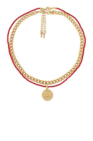 MEADOWE Aubrey Necklace Set in Gold | REVOLVE