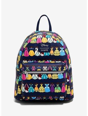Loungefly Disney Princess Dress Closet Mini Backpack