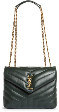 Small Loulou Leather Shoulder Bag