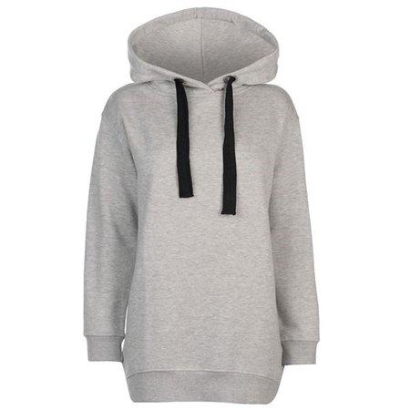 Oversized grey hoodie