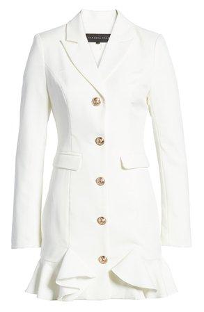 Endless Rose Ruffle Hem Jacket Minidress | Nordstrom