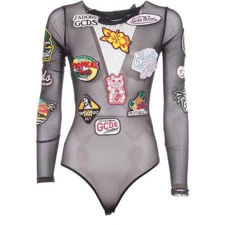 Gcds Patch Swimsuit