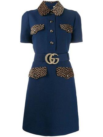 Gucci GG belt short dress £2,400 - Buy Online - Mobile Friendly, Fast Delivery