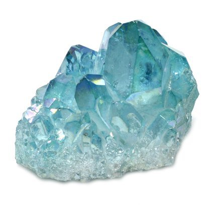 aqua aura quartz