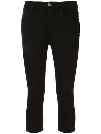 FRAME Calça Jeans Cropped Le Pedal - Farfetch