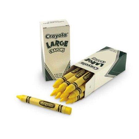 yellow crayons