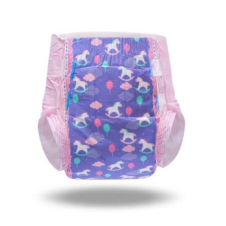 Little Fantasy Adult Diapers 10 Pieces Pack - LittleForBig ABDL Adult Baby Diaper Lover Products