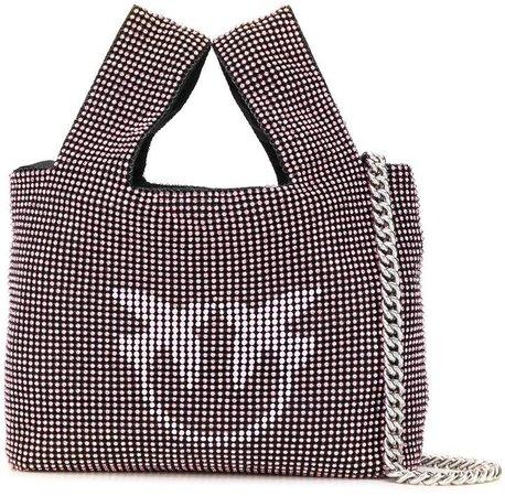 Embellished Love Birds Shoulder Bag