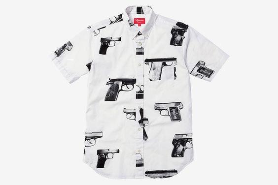 Supreme Gun Shirts (white)