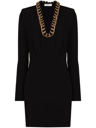 Givenchy Robe Courte à Manches Longues - Farfetch