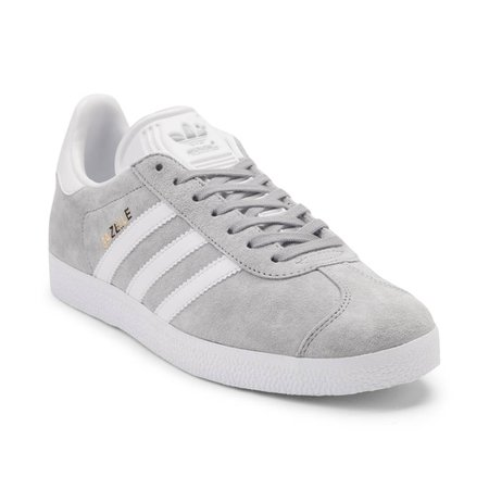 Womens adidas Gazelle Athletic Shoe - gray - 436340