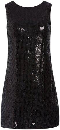 Kamryn Sequin Two Way Mini Dress