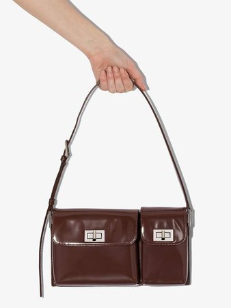 Billy leather shoulder bag