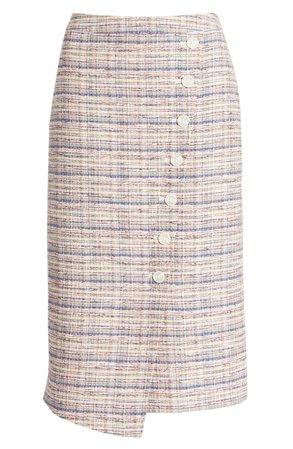 Halogen® Tweed Pencil Skirt (Regular & Petite) | Nordstrom