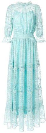 Copurs macramé lace dress