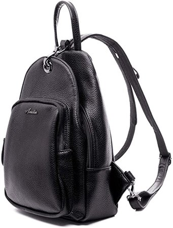 Amazon.com: Small Backpack Purse for Women, Backpack Handbags Lightweight PU Nylon Sling Purse with Convertible Shoulder Strap (Black): Shoes