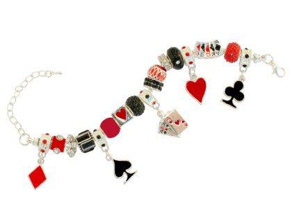 Bridge Card Game Charm Bracelet