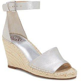 Women's Leera Suede Espadrille Wedge Sandals