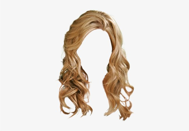 Long Wavy Casual Hairstyle - Brown Hair With Blonde Highlights - Free Transparent PNG Download - PNGkey