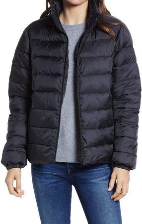 Zip Puffer Coat