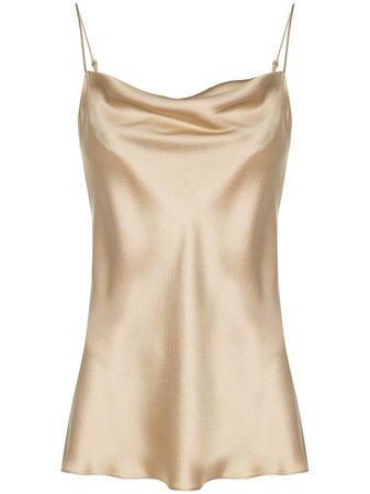Shop Nili Lotan satin camisole with Express Delivery - Farfetch