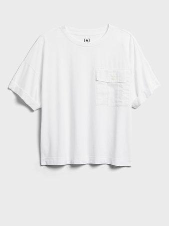 Heritage SUPIMA® Boxy T-shirt | Banana Republic