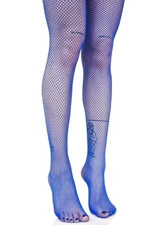 Blue Fishnets | Dolls Kill