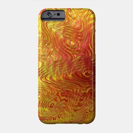 Sun Squiggles - Sun - Phone Case | TeePublic