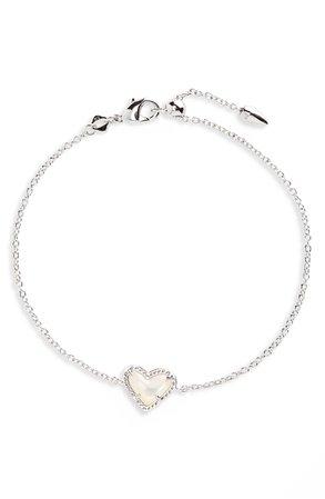 Kendra Scott Ari Heart Charm Bracelet | Nordstrom