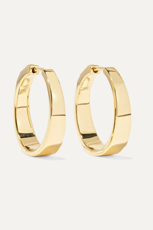 Anita Ko | Meryl 18-karat gold hoop earrings | NET-A-PORTER.COM