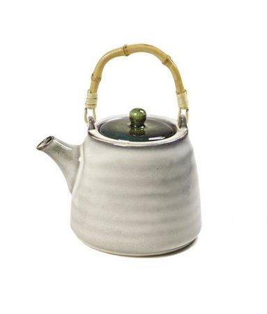 Τσαγιέρα Bamboo handle green - TASTE3TEA | Τσάι | Αξεσουάρ | Δώρα