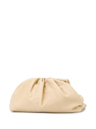 Bottega Veneta The Pouch Leather Clutch Bag - Farfetch