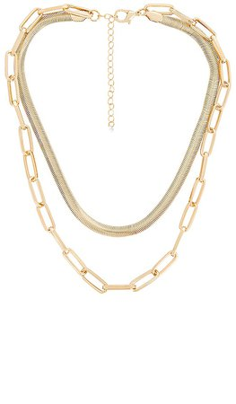 8 Other Reasons Charlene Chain Necklace in Gold | REVOLVE