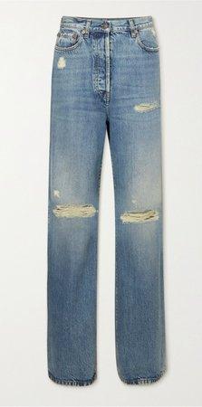 Gucci Distressed Boyfriend Jeans