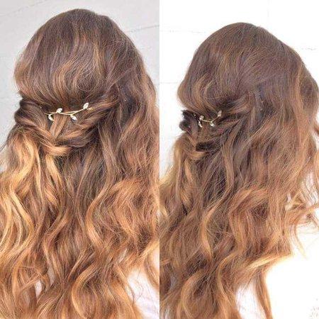 boho bohemian hair waves