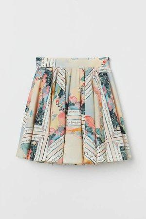 Circle Skirt - Orange