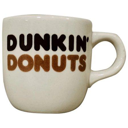 dunkin donuts coffee mug vintage