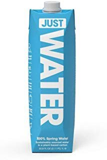 Amazon.com : JUST Water, Premium Pure Still Spring Water in an Eco-Friendly BPA Free Plant-Based Bottle | Naturally Alkaline, High 8.0 pH | Fully Recyclable Boxed Water Carton, 16.9 Ounces (Pack of 12) : Grocery & Gourmet Food