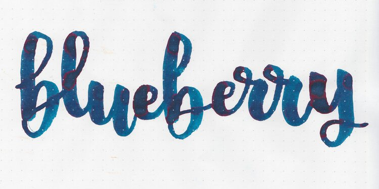 Ink Review #857: Troublemaker Blueberry — Mountain of Ink