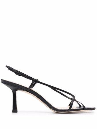 Studio Amelia open-toe Leather Sandals - Farfetch