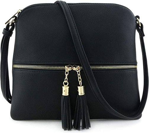 Lightweight Medium Crossbody Bag