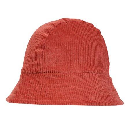 Fisherman Hat - Men's Hat In Rust Orange Corduroy | LaneFortyfive | Wolf & Badger