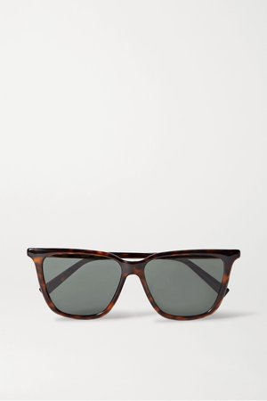 Tortoiseshell Square-frame tortoiseshell acetate sunglasses | Givenchy | NET-A-PORTER
