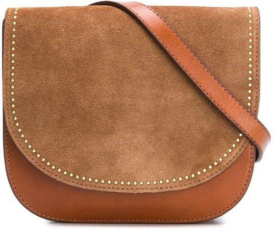 Micro Stud-Detail Shoulder Bag