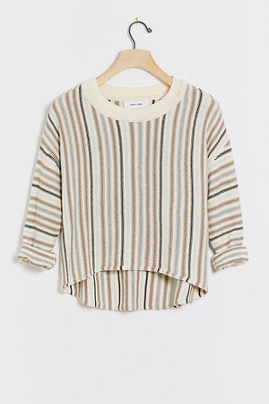 Rosemary Striped Pullover | Anthropologie